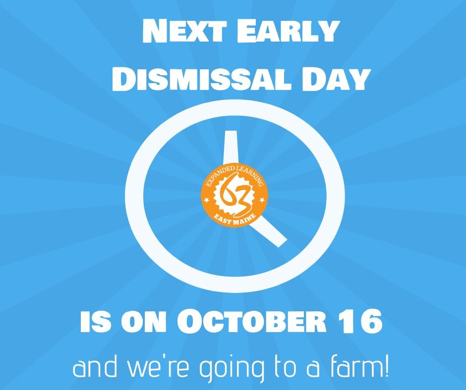 Next Early Dismissal Day Program!
