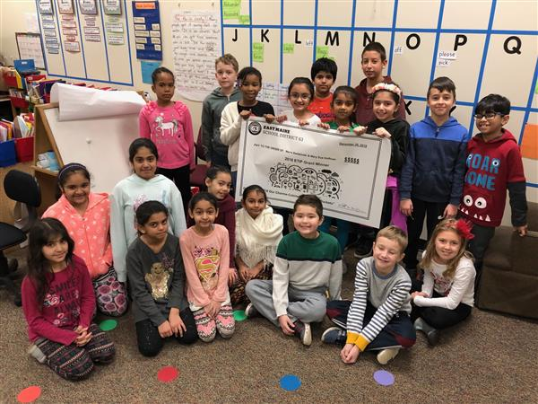 Our class won a grant.