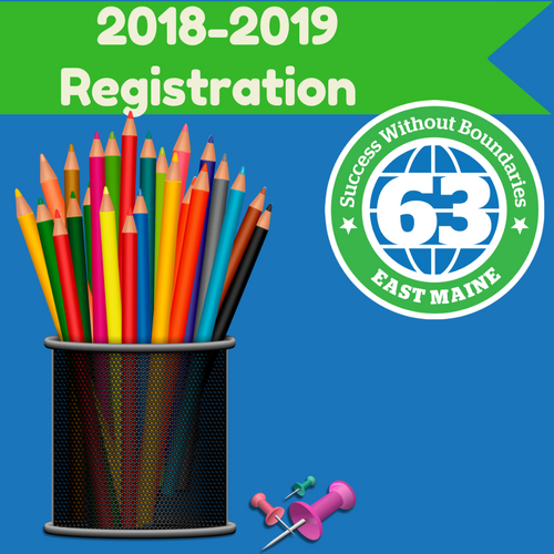 Registration for the 2018-2019 School Year
