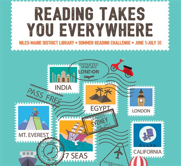 Reading Takes You Everywhere Summer Reading Challenge